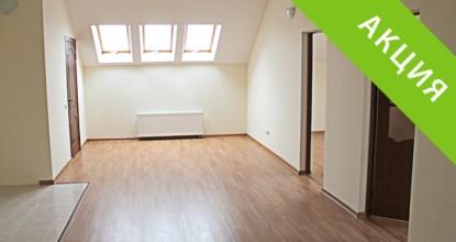 3-х комнатная квартира в Малаховке, «Венская» мансарда