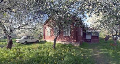 Большой участок с домом в Раменском